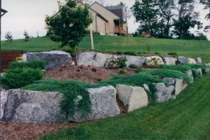 Lehigh valley boulder excavation