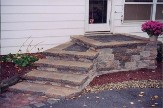 steps to front door idea landscaping lehigh valley pa